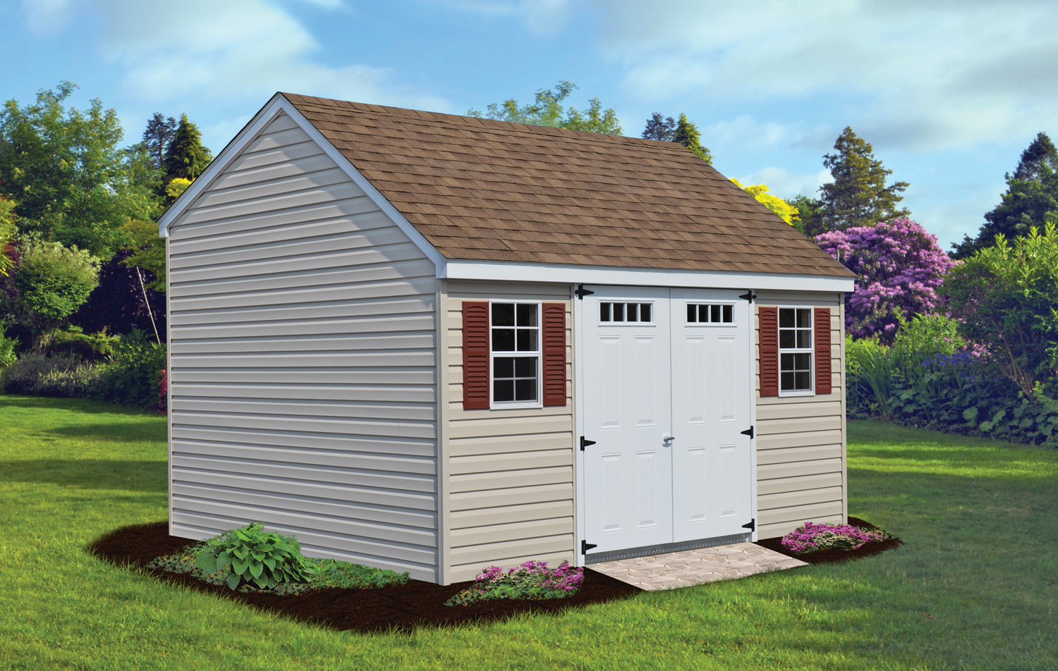 10 X 14 Vinyl Carriage Shed Lancaster Amp York Pa