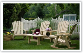 we provide outdoor living products