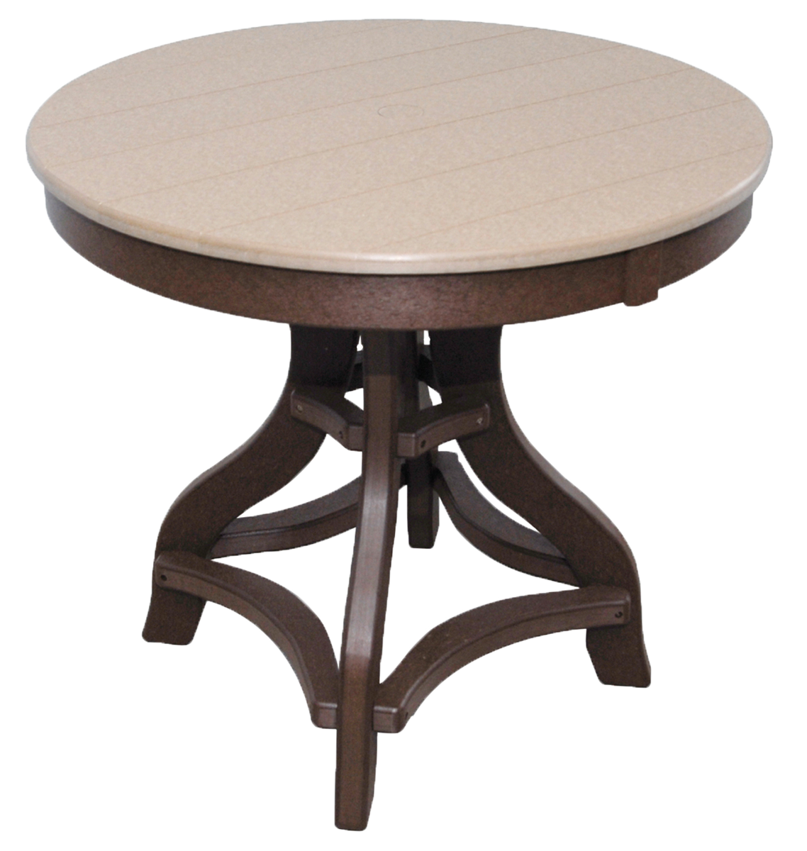 Round patio tables poly furniture lancaster york pa for Outdoor furniture york pa
