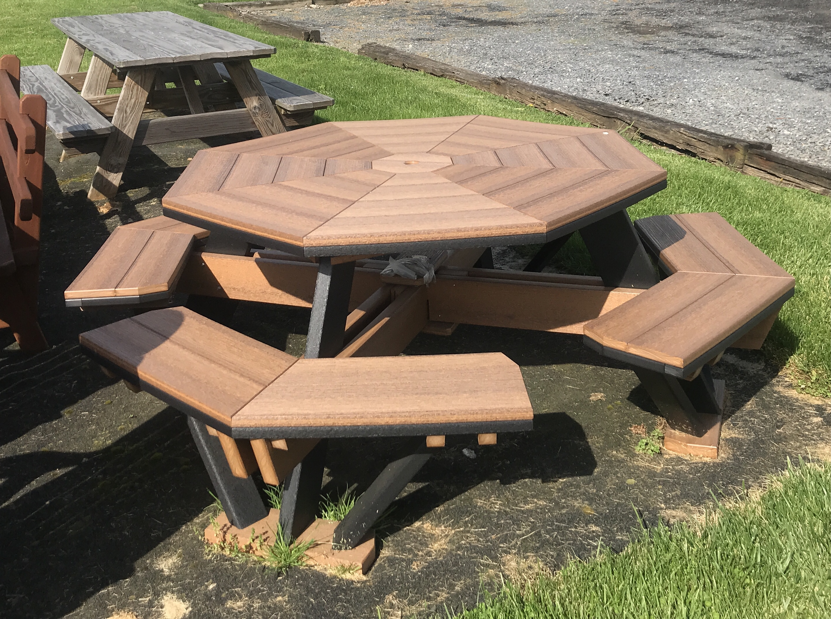 finch octagon table