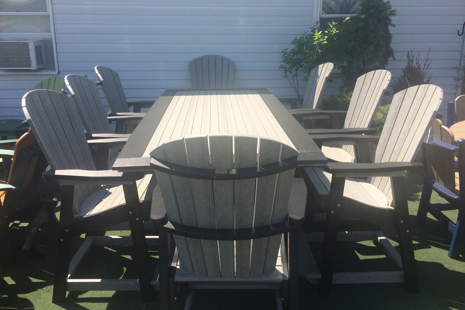 Poly great bay table lancaster york pa for Outdoor furniture york pa