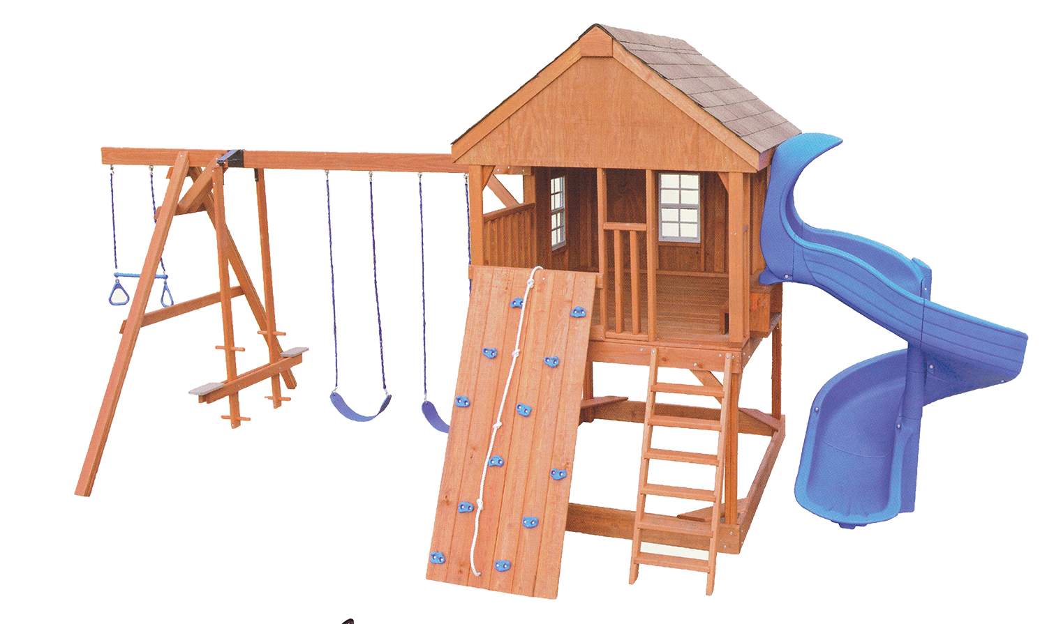 outdoor play systems  amish built quality play set accessories