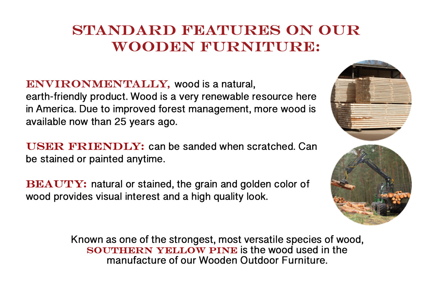 Adirondack chair outdoor wooden furniture lancaster for Outdoor furniture york pa