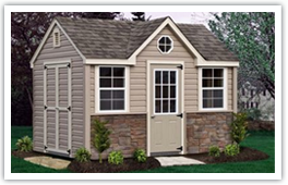 garden and storage sheds