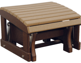 recycled poly gliding ottoman
