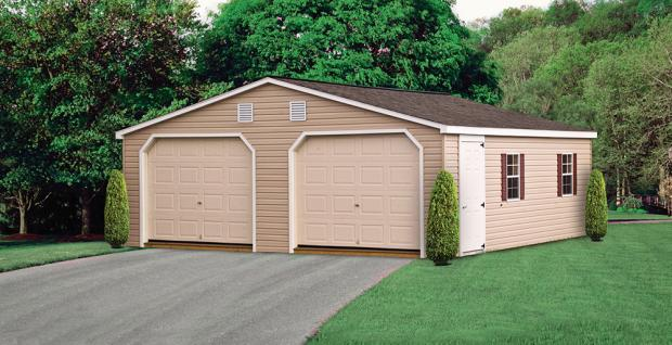 Garden Sheds York Pa double wide storage garage | lancaster & york, pa
