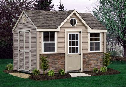 stone chalet shed - Garden Sheds York Pa