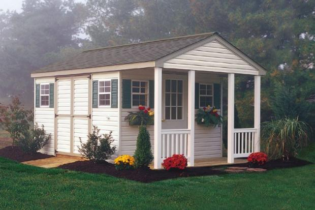 Garden Sheds York Area porch patio shed | lancaster county pa