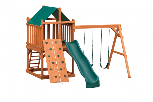 wooden playset for christmas