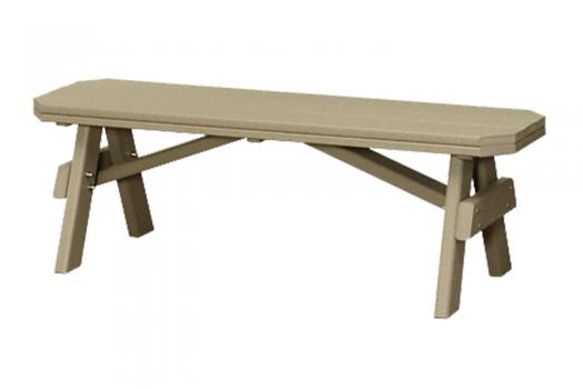 poly recycled garden benches