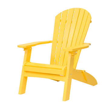 recycled poly beach adirondack folding chair