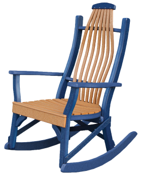 View The Full Image Recycled Poly Bentwood Rocking Chairs