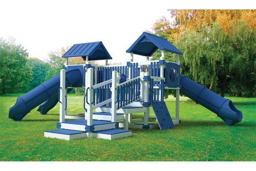 Turbo Jungle commercial vinyl amish built lancaster county swing kingdom