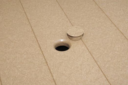 umbrella hole and plug
