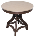 recycled poly round tables amish built