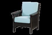 deep seating poly recycled chair sunbrella frabric
