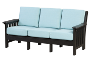 deep seating poly recycled sofa sunbrella frabric
