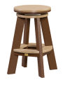 recycled poly great swivel stool amish made lancaster county