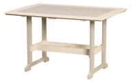 recycled poly great bay table amish made lancaster county