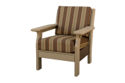 deep seating poly chair amish made