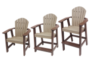 comfy back chair collection amish made recycled plastic poly adirondack