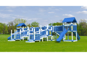 swing kingdom commercial playset playground play-a-neer palace parks, schools, churches, HOA's, boroughs, clubs