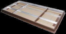 aluminum frame provides support like non else