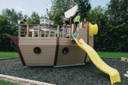 swing kingdom commercial playset playground sk noah ark parks, schools, churches, HOA's, boroughs, clubs