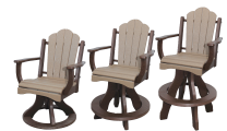 daisy chair collection amish made recycled plastic poly furniture