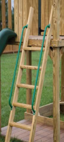 pressure treated step ladder