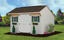 vinyl carriage shed