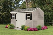 Vinyl workshop garage shed