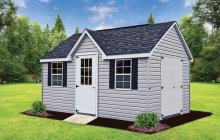 Vinyl Chalet Shed chester lancaster york county